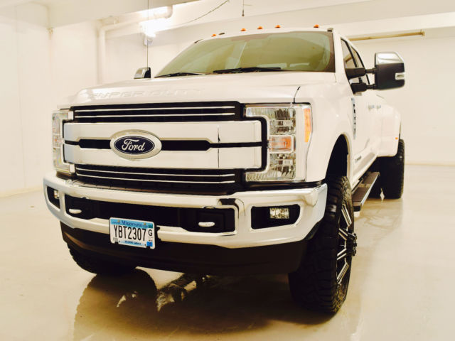 2017 f350 lifted powerstroke diesel dually ready to rock. Black Bedroom Furniture Sets. Home Design Ideas