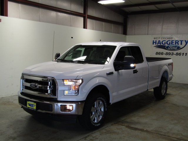 2017 Ford F 150 Xlt Super Cab 4wd V8 3 Miles Oxford White Extended Pickup Re