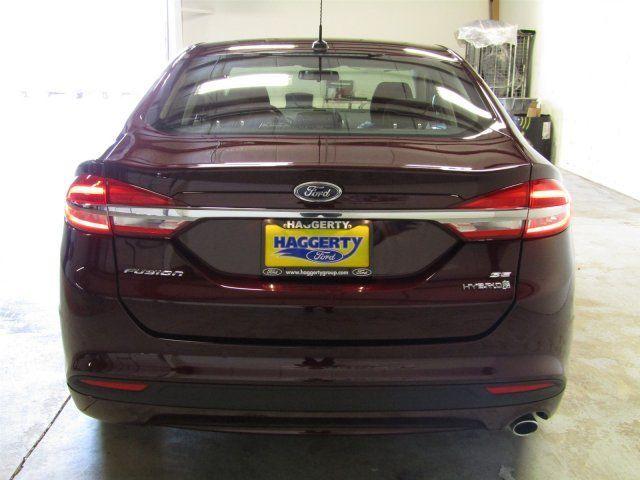 2017 Ford Fusion Hybrid Se Technology