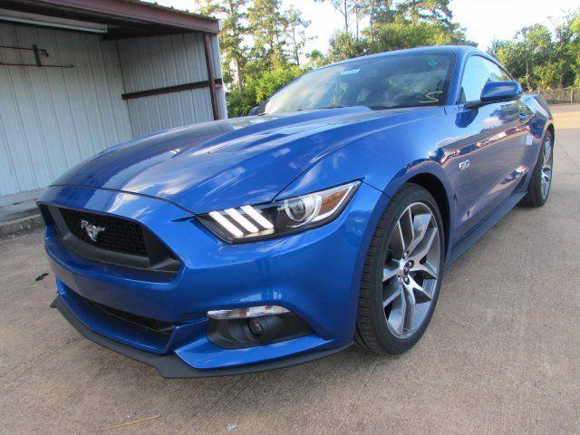 Lightning Blue Mustang >> 2017 Ford Mustang Gt Premium 5 Miles Lightning Blue Metallic