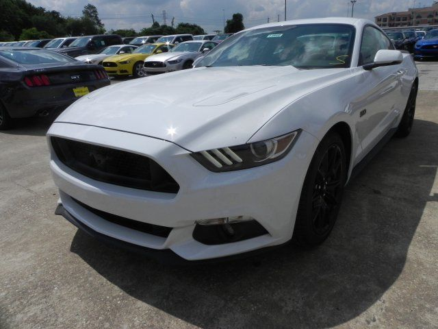2017 Ford Mustang Gt Premium 5 Miles White 2dr Car Unleaded V 8 0 L 30
