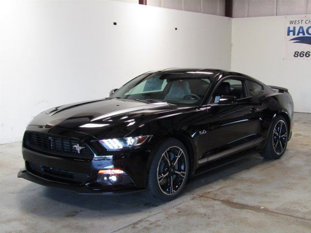 2017 Ford Mustang Gt Premium California Special 5 Miles Shadow Black 2dr Car Pre
