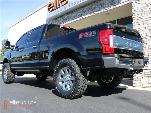 Ford Fx4 For Sale >> 2017 Ford Super Duty F-250 SRW King Ranch 1 Miles Shadow Black Crew Cab Pickup D