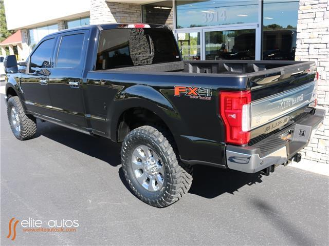 2017 ford super duty f 250 srw king ranch 1 miles shadow black crew cab pickup d