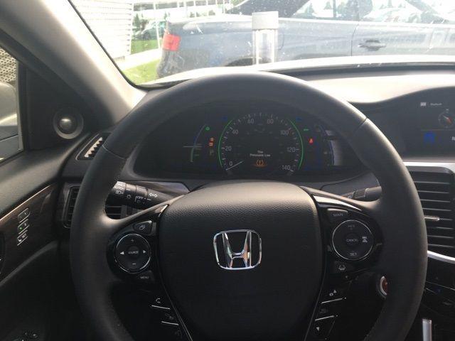 2017 Honda Accord Hybrid Ex L 3286 Miles Lunar Silver