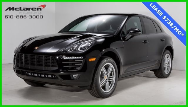 2017 Porsche Macan I4 Pano Roof Lane Change Ist Premium Package Bose Pdls