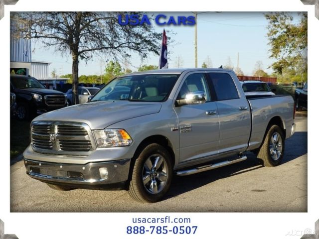 2017 ram 1500 crew big horn 5 7l v8 pickup rear cam park assyst tow. Black Bedroom Furniture Sets. Home Design Ideas