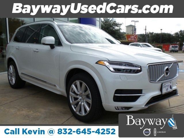 2017 Volvo Xc90 T6 Inscription 5 Miles Ice White Sport Utility Turbo Supercharge