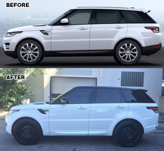"2014 Land Rover Range Rover Sport: 22"" Autobiography Wheels, Painted Trim, Meridian Audio"