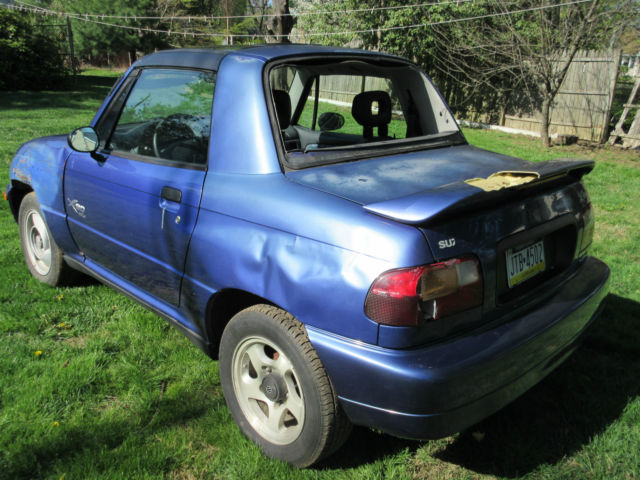 3 suzuki x-90's! 4wd. suzuki x90 with t-tops. a/c. 5 speed. 3 cars