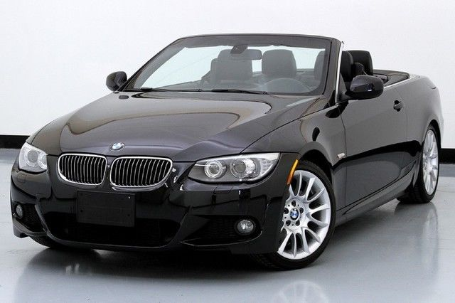 328i Convertible M Sport Package Premium Black Sapphire Metallic Used