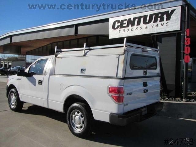 camper f150 bed utility short shell topper cab regular service xl reg ford v6 150