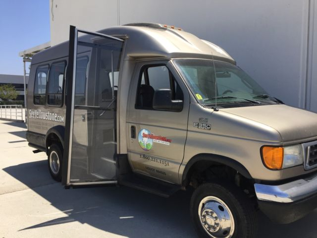 4WD Van Terra Turtle Top Ford E350 Super Duty Lifted High ...