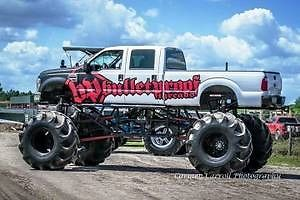 5 Ton F250 Mud Truck Monster Truck Bulletproof