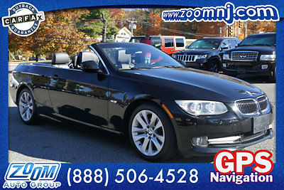 54k Mi 1 Owner 2012 BMW 328i Convertible Navigation Premium Black On Zoom