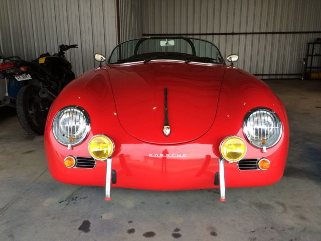 55 Porsche 356 Speedster Replica For Sale Very Well Build Kit