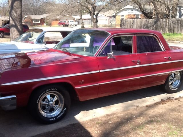 64 impala 4 door ready to sell. Black Bedroom Furniture Sets. Home Design Ideas
