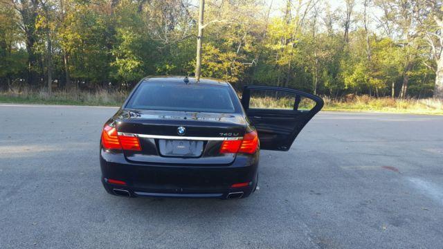 2012 BMW 7 Series Sedan 4 Door