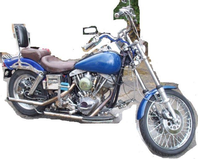 75 Harley-Davidson FXE Shovelhead