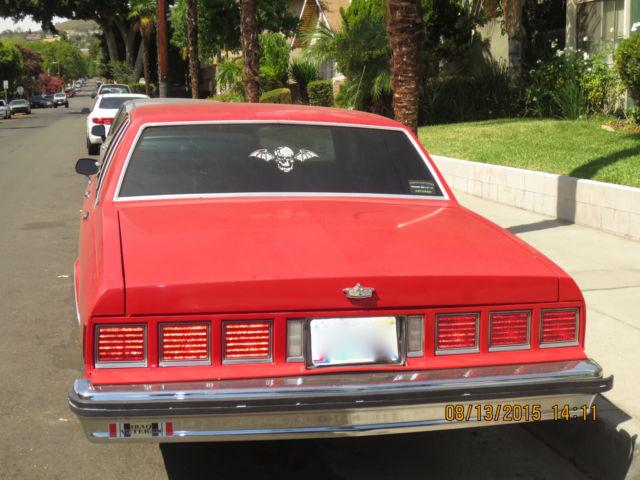83 Chevy Caprice Classic Sedan