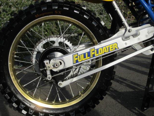 85 SUZUKI RM125 DIRT BIKE MOTORCYCLE AHRMA BEAUTY! LOW HOUR
