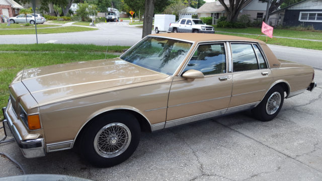 Clearwater Used Chevrolet >> 86 Chevy Caprice Classic Brougham Box Chevy