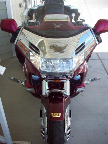 93 Honda Goldwing Gl1500 Trike Amp Trlr Calif Sidecar Red
