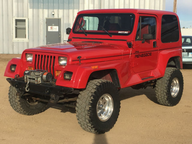 94 jeep wrangler renegade 5 7 350 v8 auto 4x4 shackle reversal soa ford 8 8. Black Bedroom Furniture Sets. Home Design Ideas