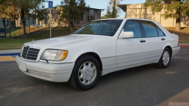 95 Mercedes S500 W140 Big Body Benz Saloon S600 S420 S320