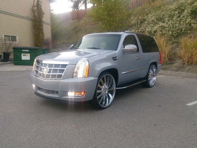 Used Chevy Tahoe >> 96 CHEVROLET TAHOE FULL SIZE 2 DOOR CUSTOM 2013 CADILLAC CONVERSION ON 28''