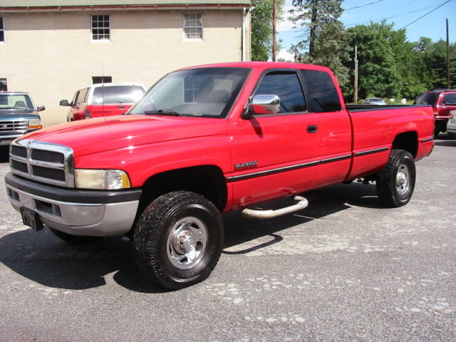 97 dodge ram 2500 4wd larimie rustfree slt cummins 12 valve diesel rare western. Black Bedroom Furniture Sets. Home Design Ideas