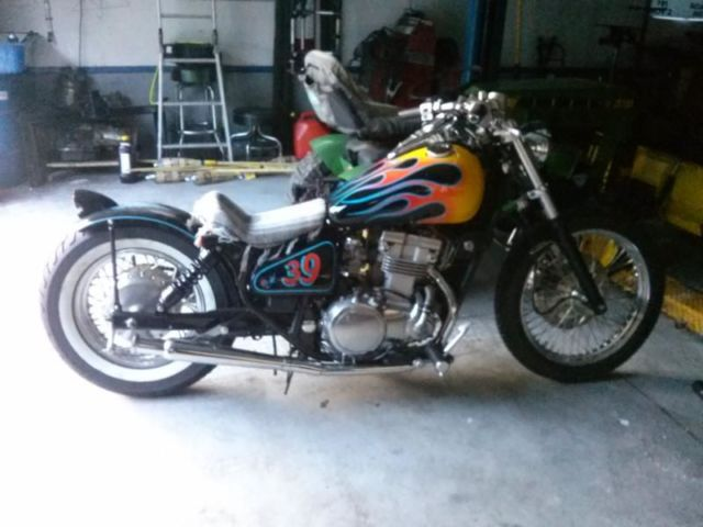 97 Kawasaki Vulcan Bobber Rat Bike 8600 Miles