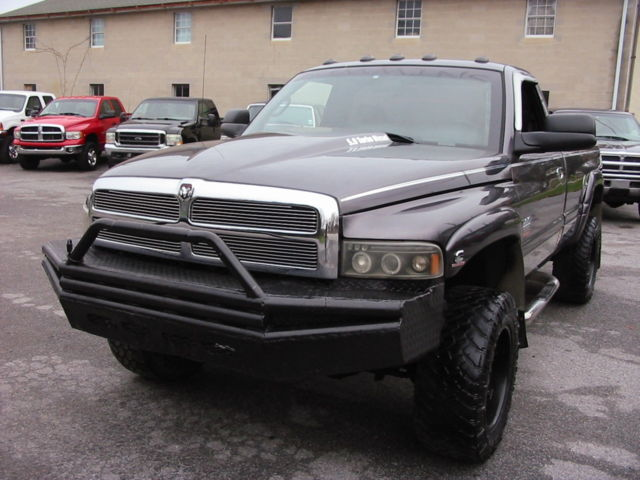 98 dodge ram 2500 slt 4wd rare quad 12valve cummins diesel. Black Bedroom Furniture Sets. Home Design Ideas