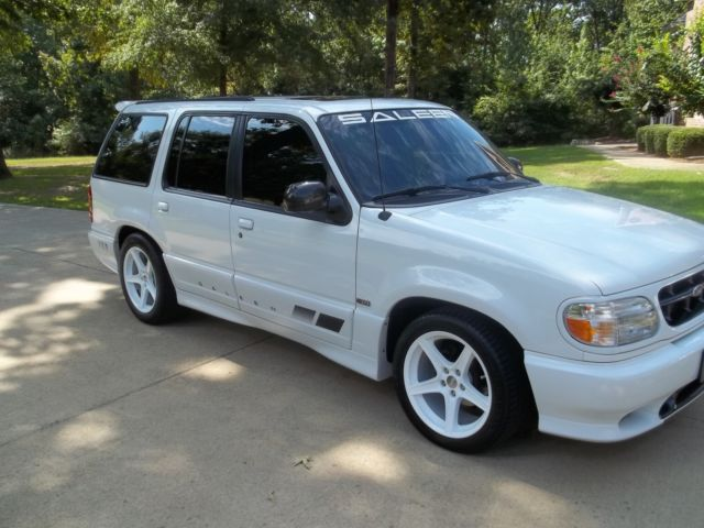 Used Ford Explorer >> 99 Saleen Ford Explorer XP8 5.0 Supercharged RARE #20