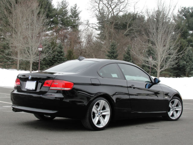 2007 Bmw 3 Series 328xi Coupe Awd Black Very Clean