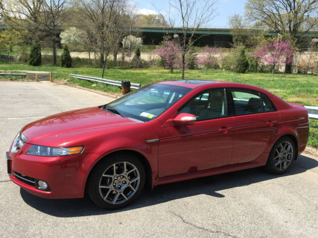 2007 Acura Tl Type S Navigation >> Acura Tl Type S W Navigation Moroccan Red Pearl Single Owner