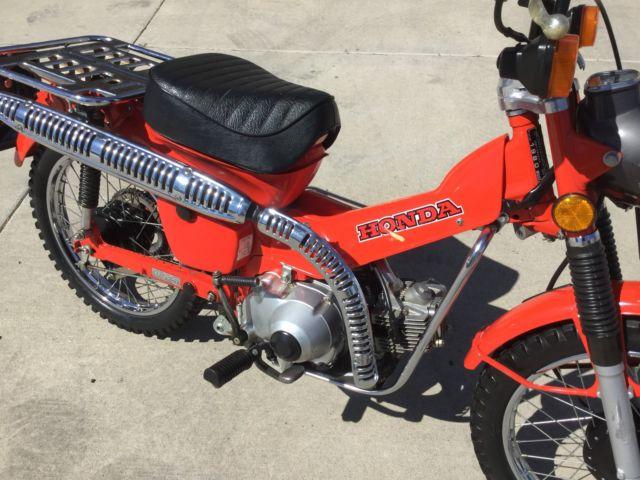 Dirt Bike For 5 Year Old >> All Original 1980 Honda Trail 110 CT Nice Motorcycle Dirt Bike 50 70 90 1981 Old