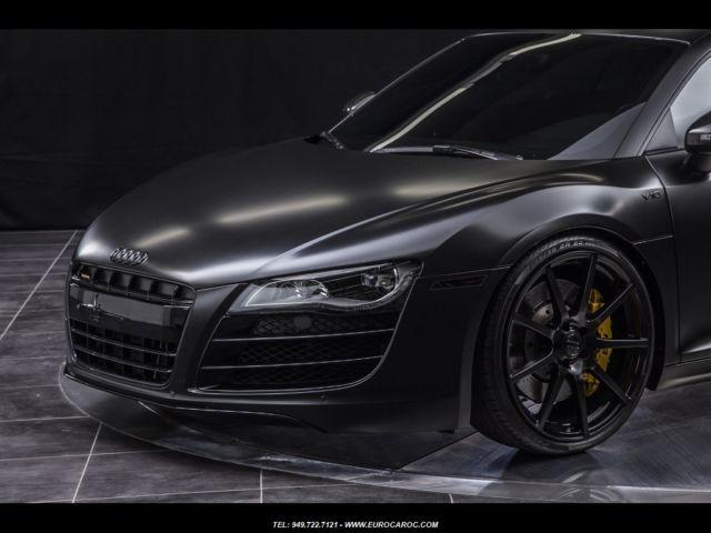 Audi R8 5 2 V10 Custom Satin Wrap One Of A Kind Pristine