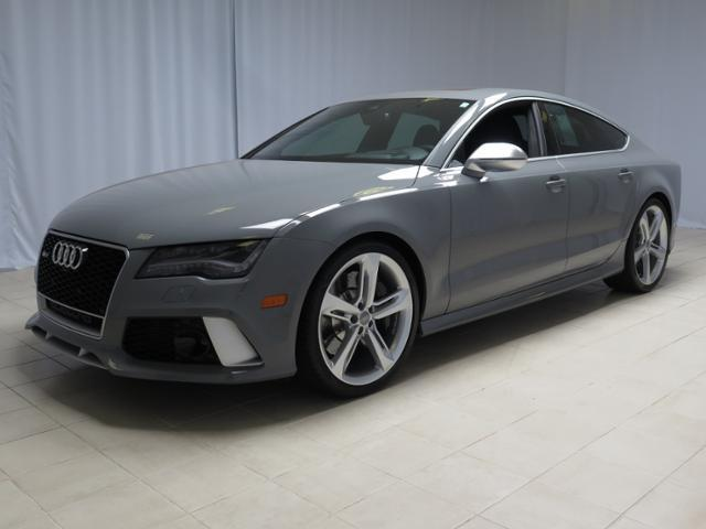 Awesome Audi Rs7 In Nardo Grey Exterior With Very Low Miles