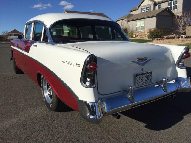 Beautiful 1956 chevrolet bel air 4 door for 1956 belair 4 door