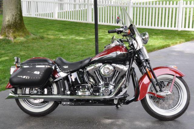 Harley Davidson Softail Hidden Passenger Pegs