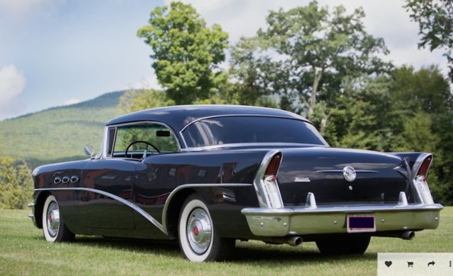 Beautiful black 1956 Buick Riviera Special 2 door hardtop