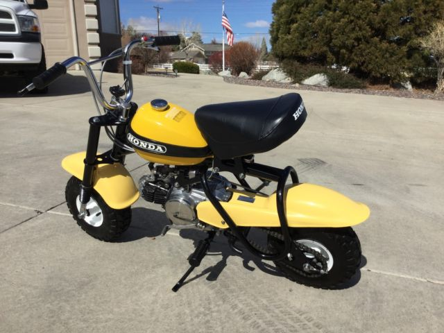 Beautifully Restored 1970 Honda QA50 QA 50 Minibike Dirt Bike z trail 1971 1972