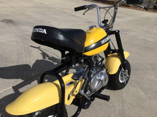 Beautifully Restored 1970 Honda QA50 QA 50 Minibike Dirt Bike z trail 1971 1972