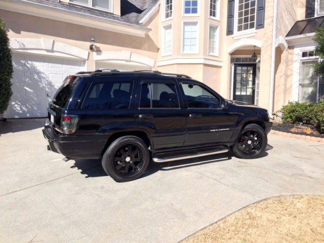 black 2000 jeep grand cherokee limited 4 7 liter v8 new engine 56k total miles. Black Bedroom Furniture Sets. Home Design Ideas