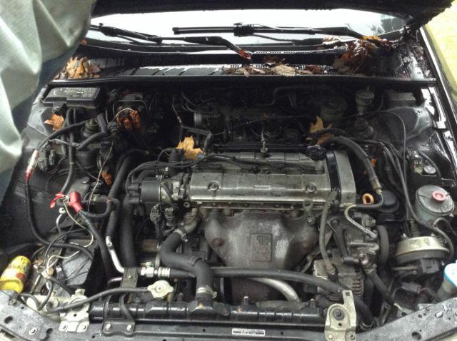 Black Honda Prelude H23 Manual 5 speed transmission Black ...