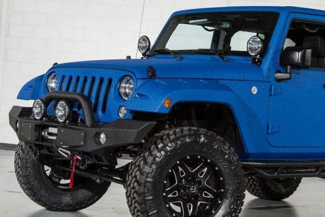 Black Jeep Wrangler Custom Wheels Tires