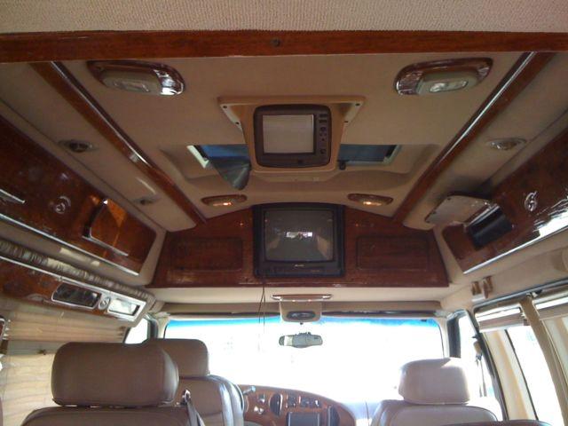 Black, used FORD E150 conversion Van - New Tires, GPS Nav ...