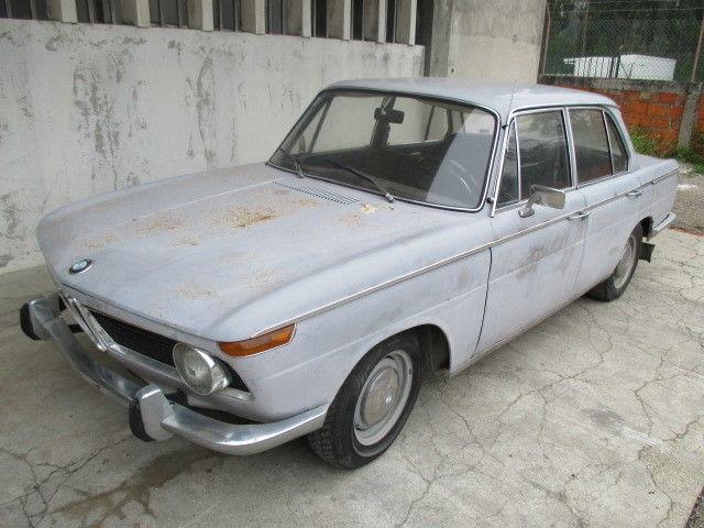 BMW 1800 1964 Saloon Restoration Project Barn Find