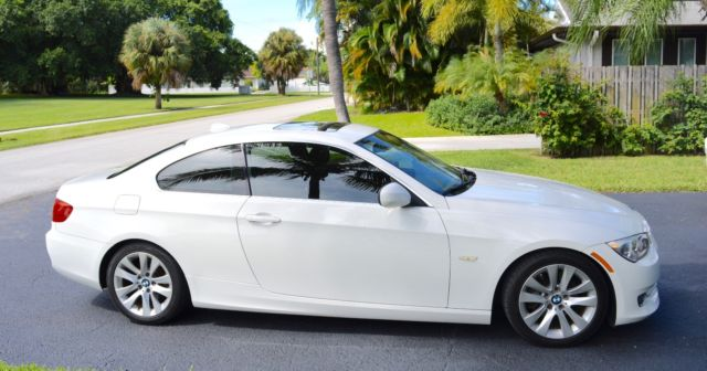 BMW 3 Series 328i Coupe White with Saddle Brown Interior Under CPO ...